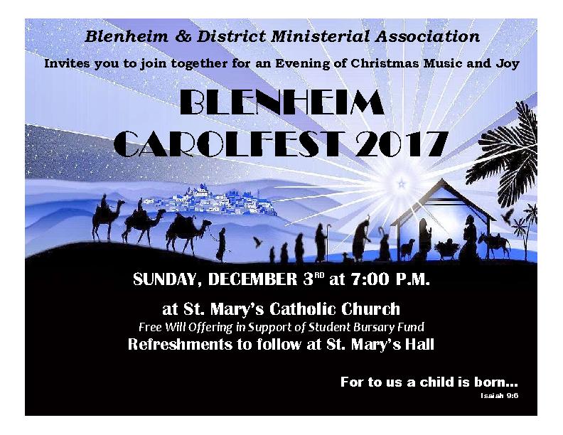 2017 Carolfest Poster